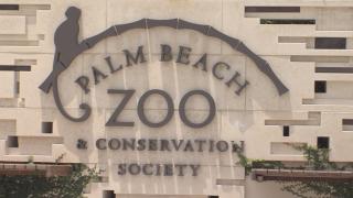 Palm Beach Zoo sign