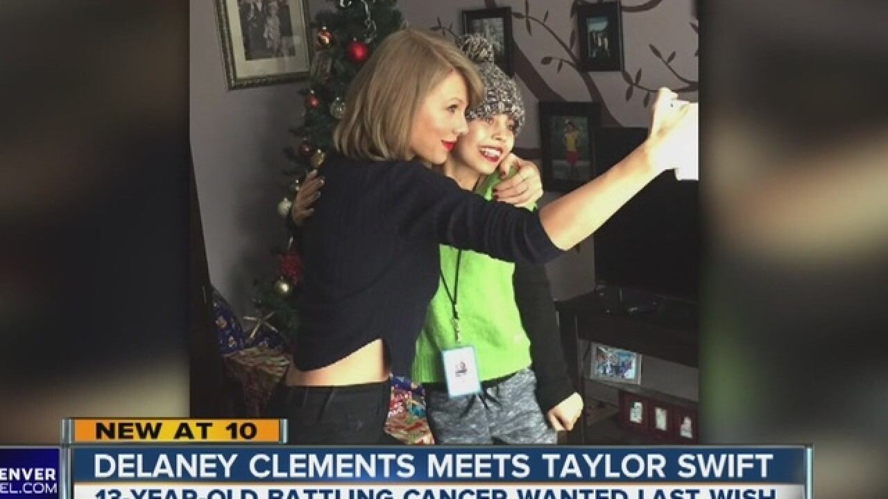 Good news: #DelaneyMeetTaylor finally happened!