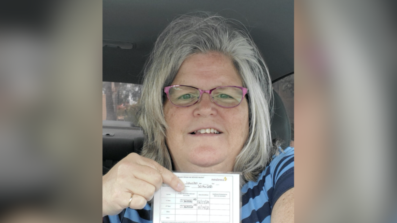 Lakeside woman, COVID study participant frustrated by 'useless' vaccination card