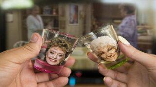 'Golden Girls' Shot Glass Set Includes A Fun Surprise