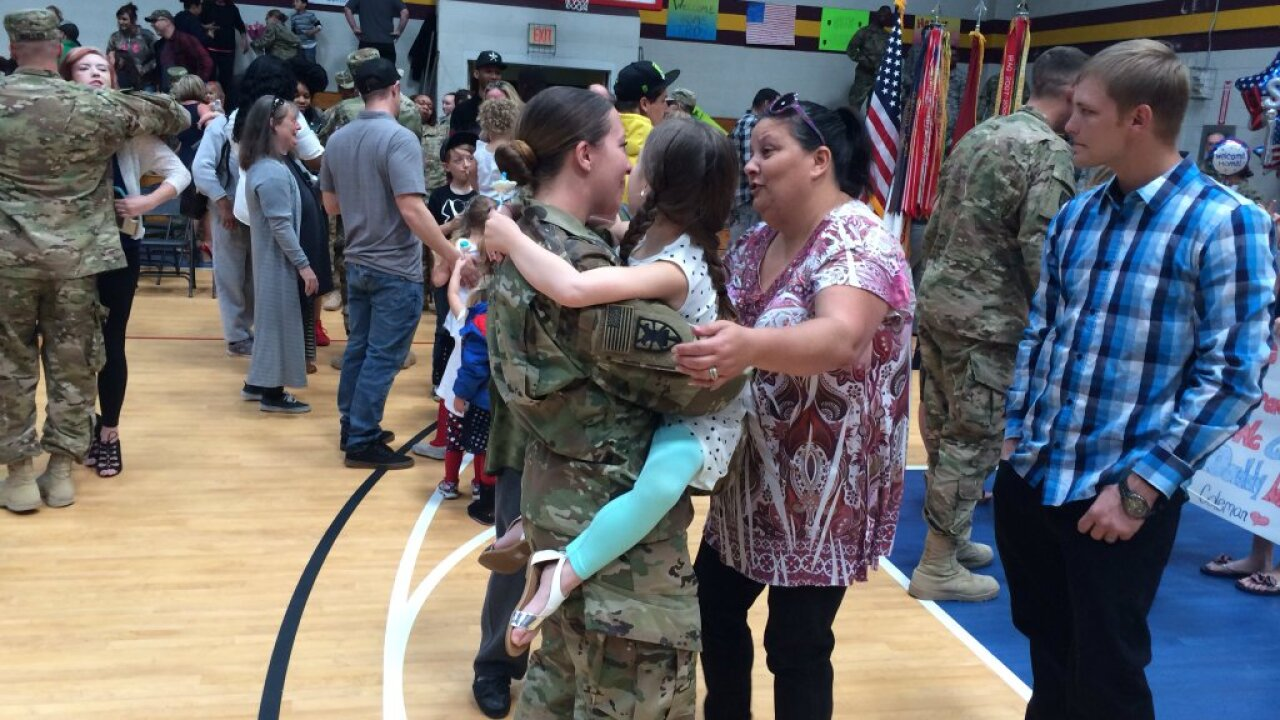 100 Soldiers return to JEB Little Creek-Fort Story after deployment to Kuwait