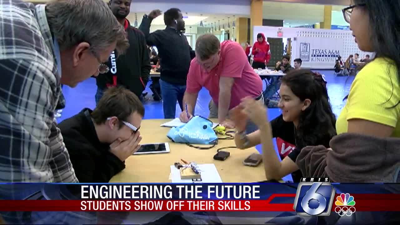 Local whiz kids participate in engineering competition at Texas A&M-Kingsville