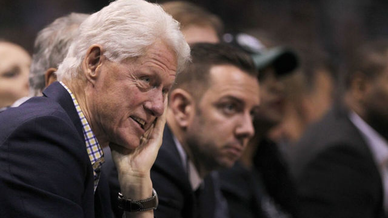 "Bill Clinton swoons over Bucks, ""it's a different team, now"""