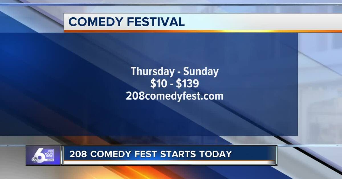 208 Comedy Fest kicks off Thursday