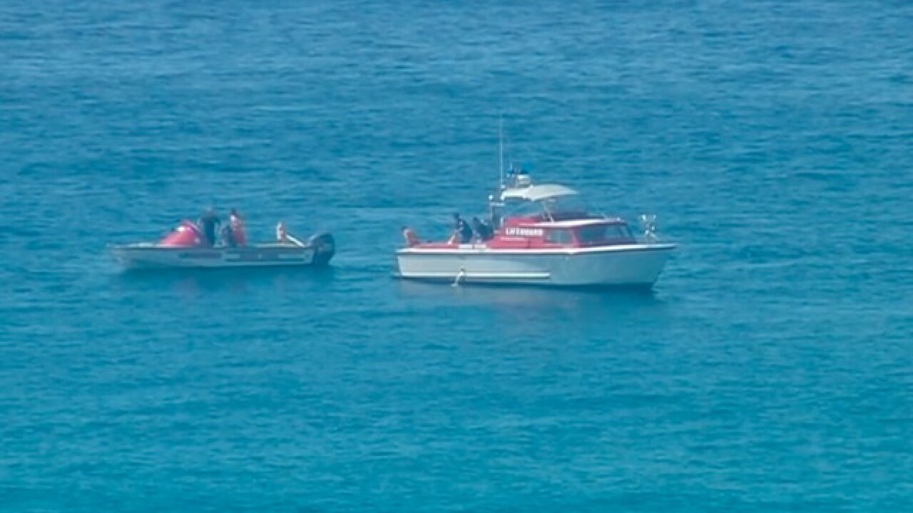 Report: Body seen in water off Mission Beach