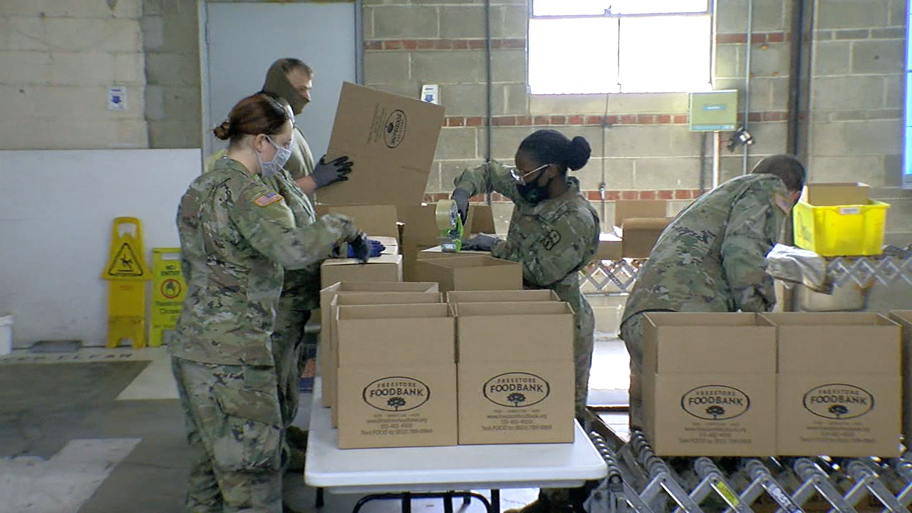 National Guard Members deployed more than a year