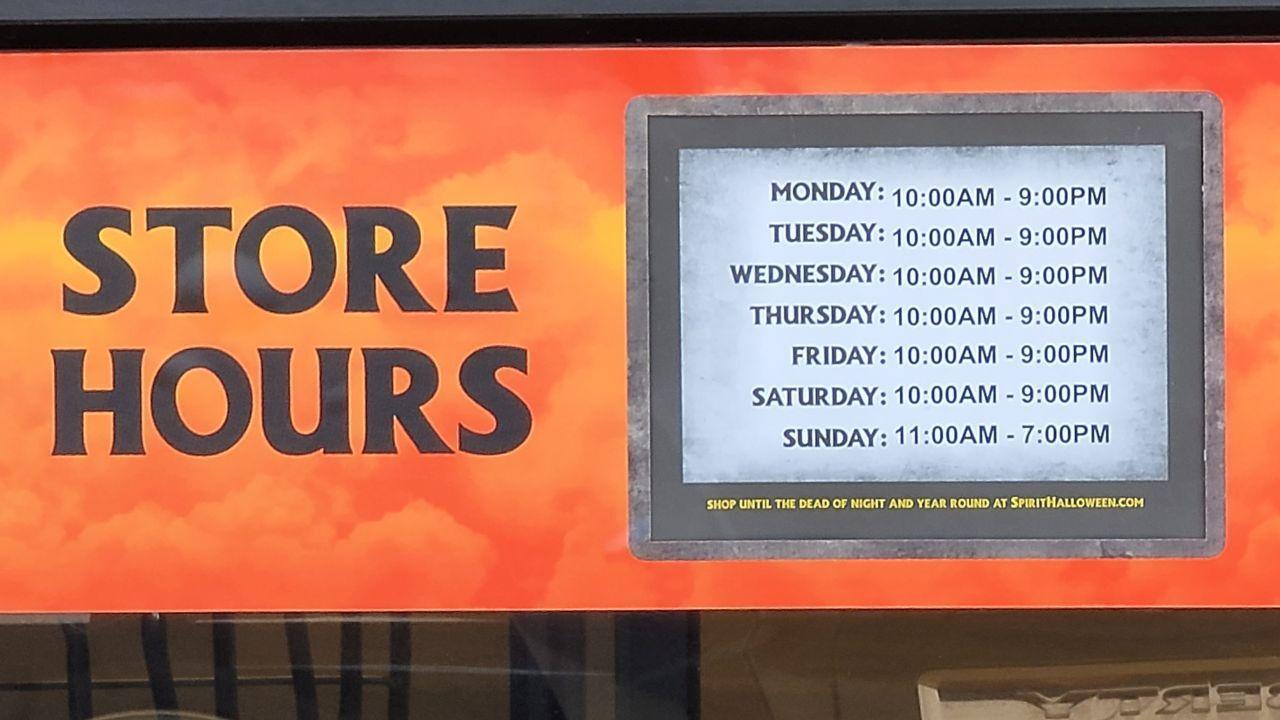 Spirit Halloween store is now open in Great Falls