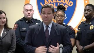 Florida Gov. Ron DeSantis speaks at a news conference in Lakeland on Sept. 7, 2021.jpg