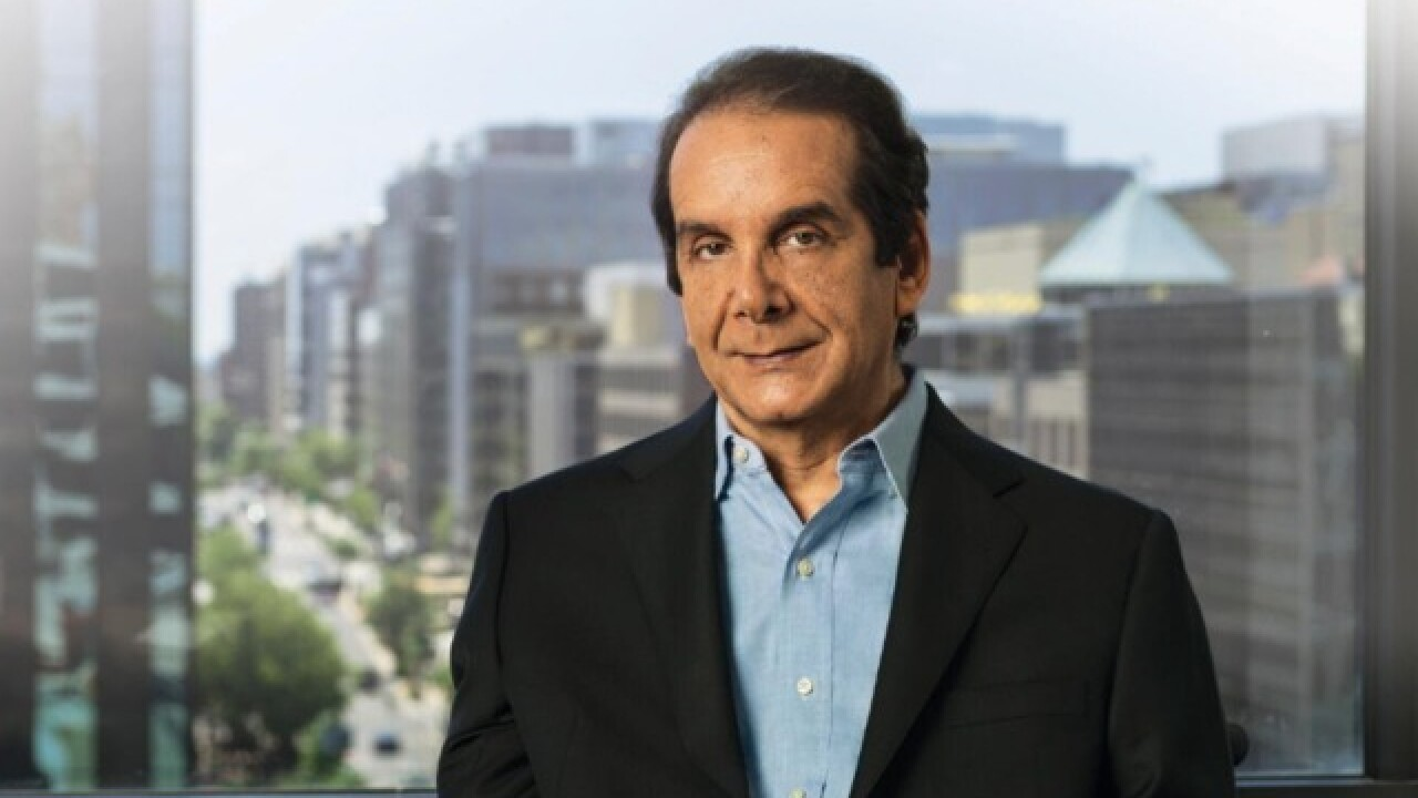 Charles Krauthammer, conservative pundit and Fox News regular, dies at age 68