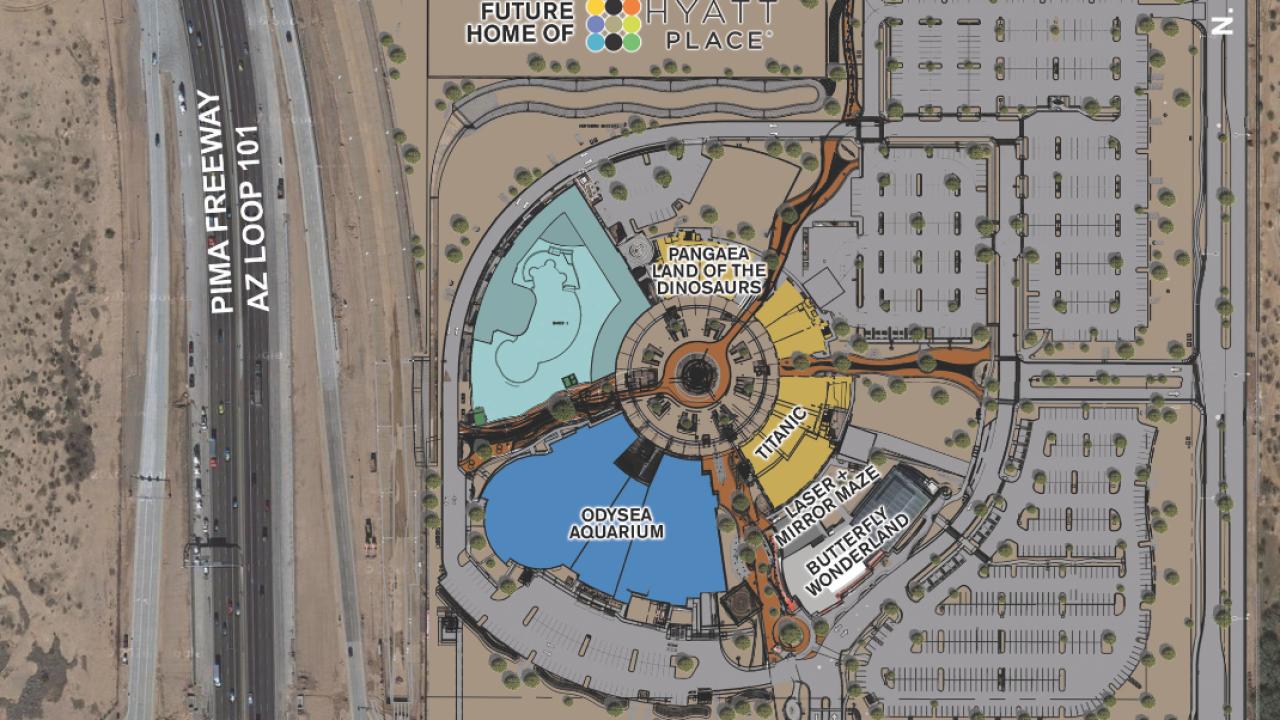 Arizona Boardwalk phase 2 rendering