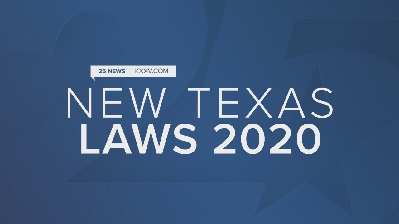 New Texas laws going into 2020