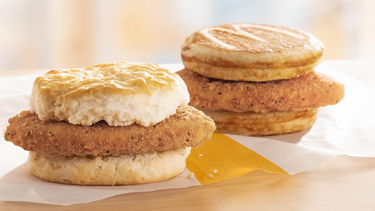 Photos: McDonald's adds McChicken to breakfastmenu