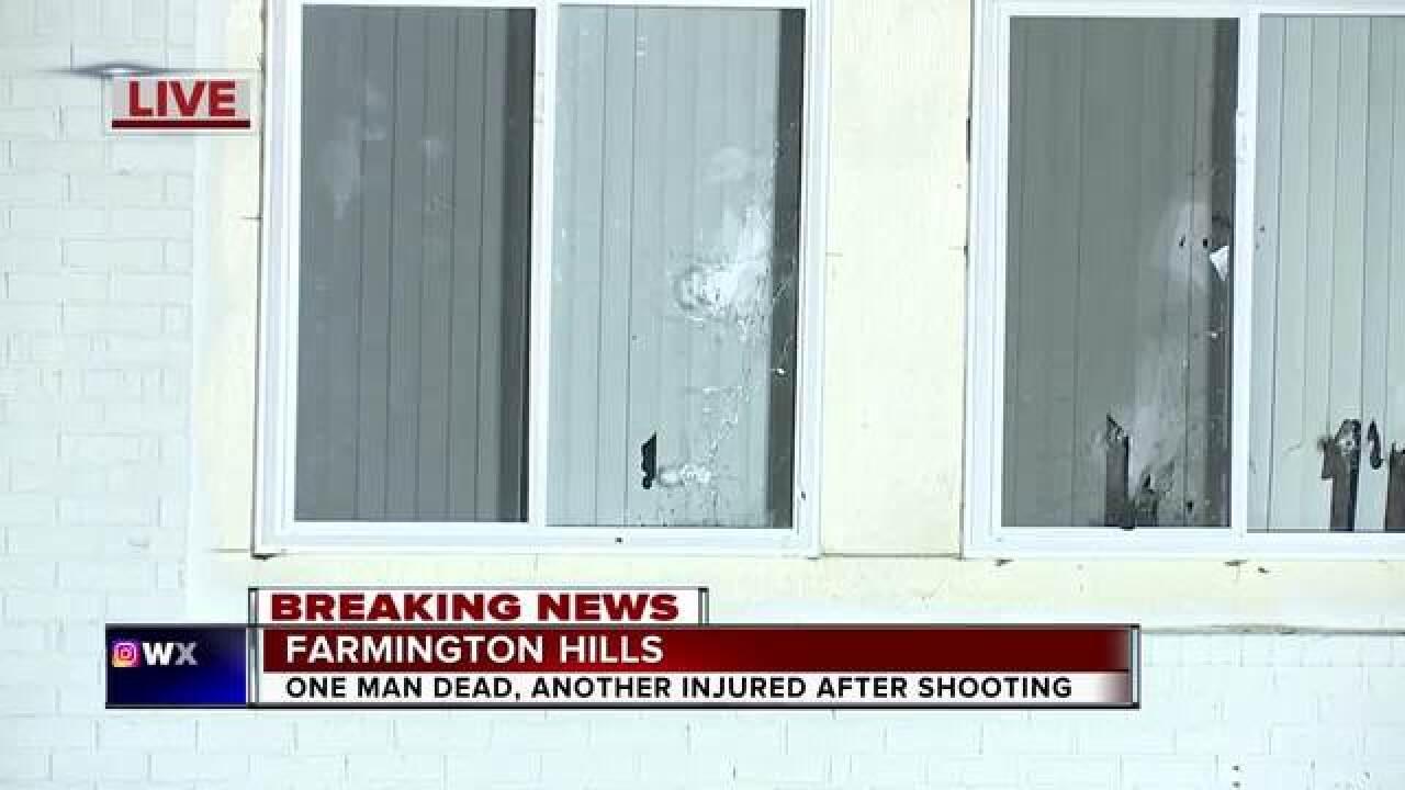 1 dead, 1 injured in Farmington Hills shooting