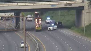 I-65 South Rosa L. Parks Crash.JPG