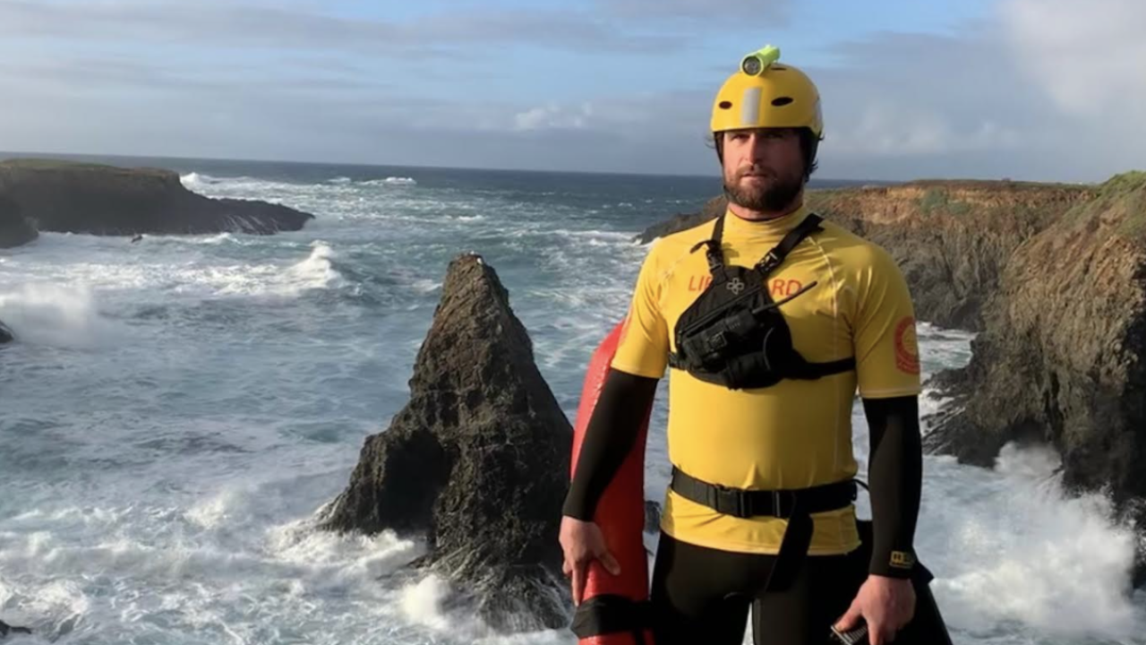 Former San Diego lifeguard lauded for rescue attempt in treacherous waters