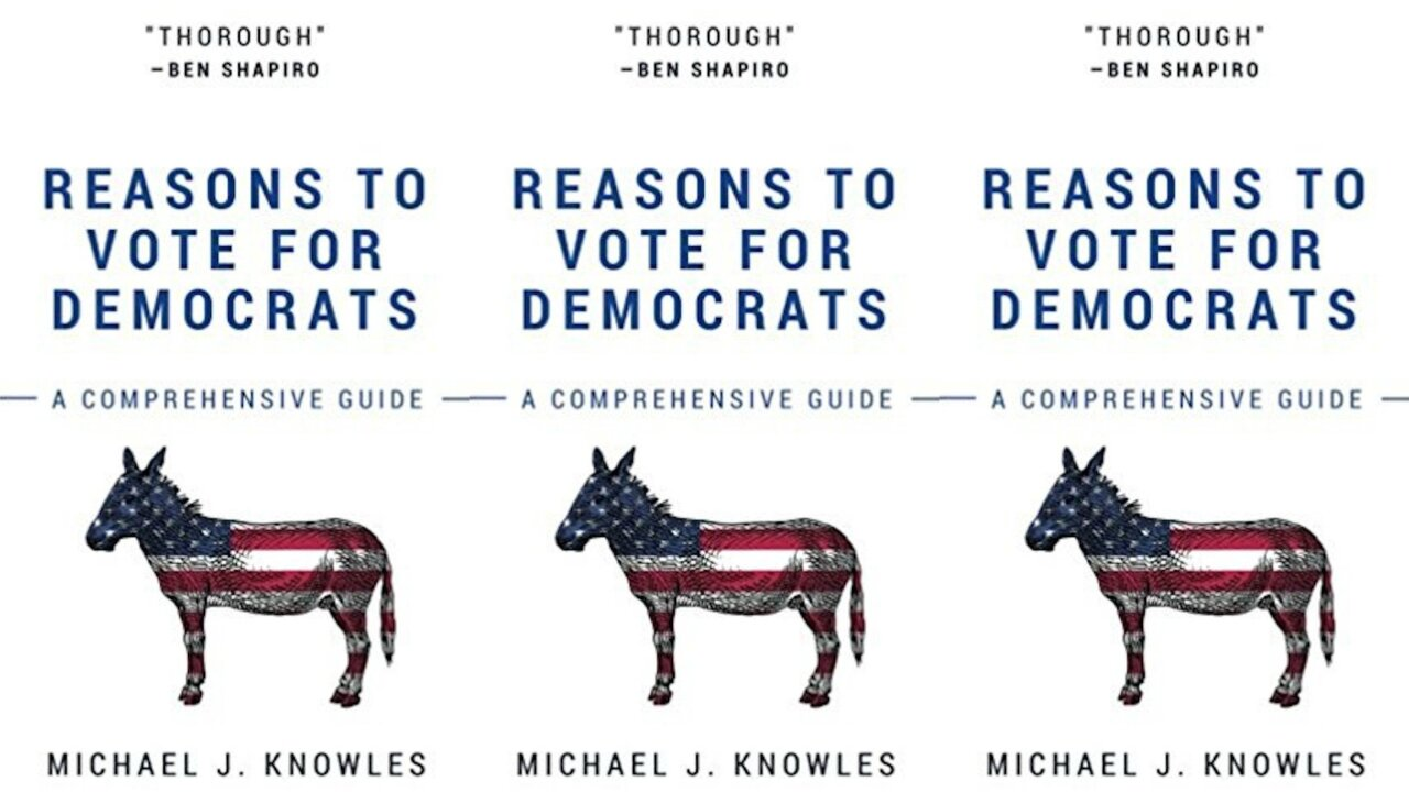 No. 1 Amazon bestseller: 266 blank pages on why to vote Democrat