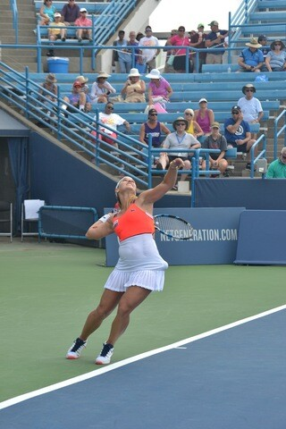 Top tennis stars compete in Ohio