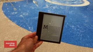 Tech Tuesdays: Waterproof Kindle For Summer