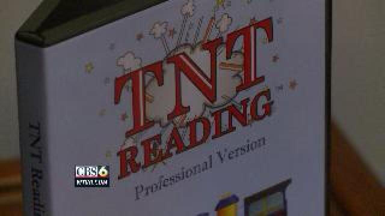 """TNT"" reading software in Chesterfield School's"