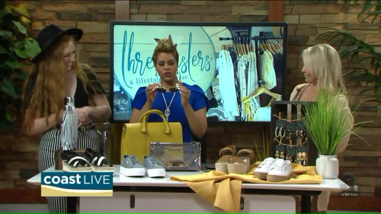 Trends and fashions from Three Sisters Boutique on Coast Live