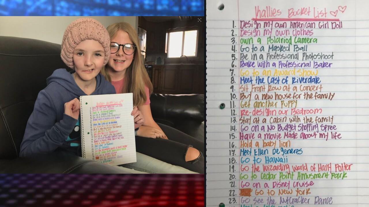 15-year-old Utah girl battling tumor creates 'bucketlist'