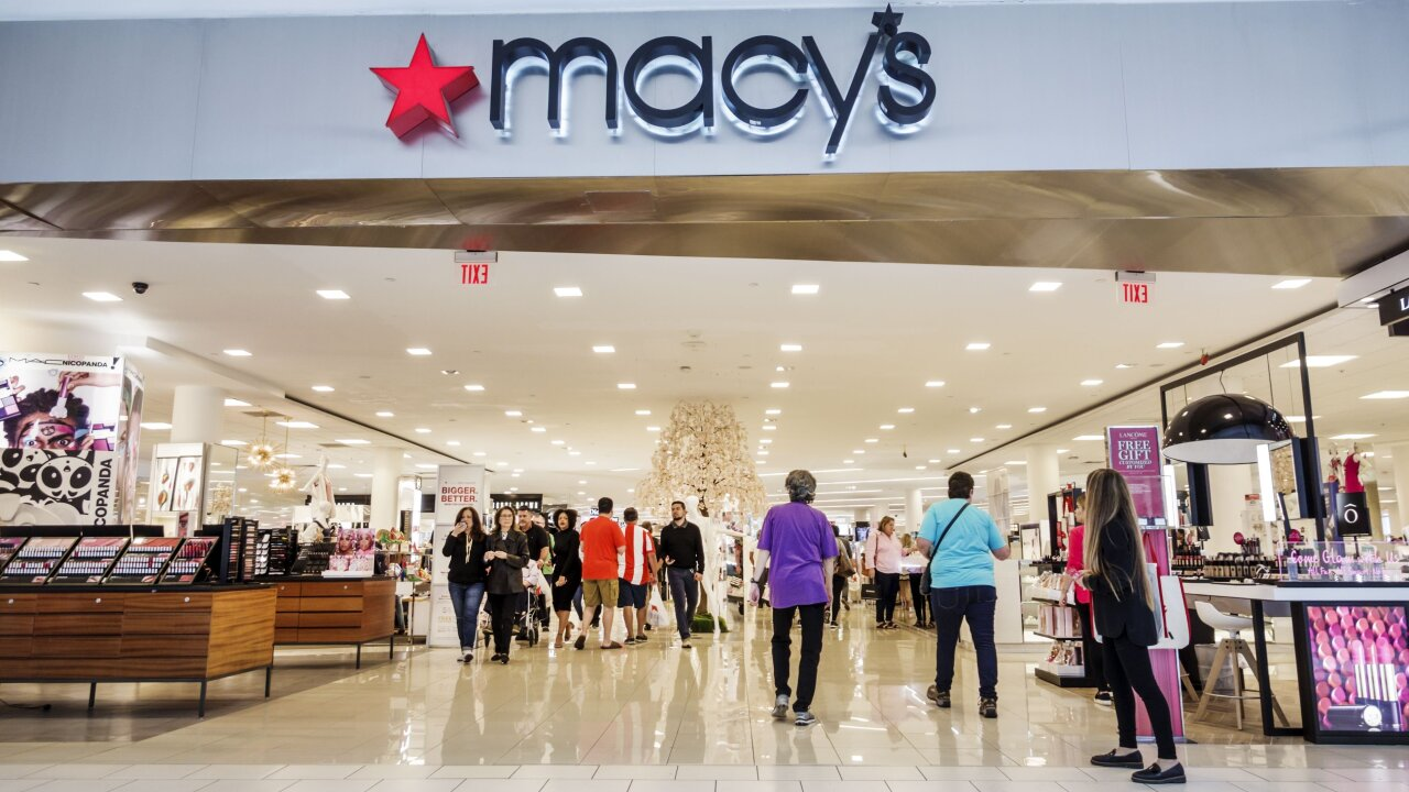 Macy's stock is tanking because it put too many clothes on sale during the spring
