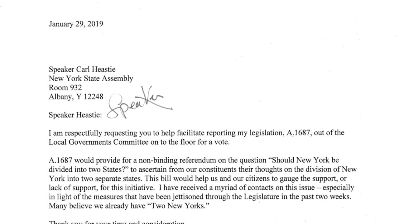 Spilt New York Letter