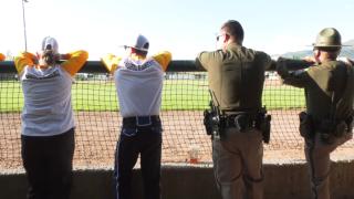 Montana State Bobcats football holds charity softball game