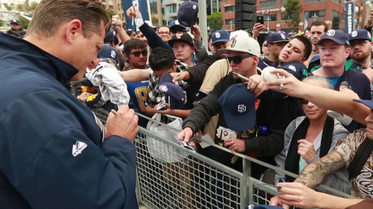 Padres FanFest offers new experiences for fans