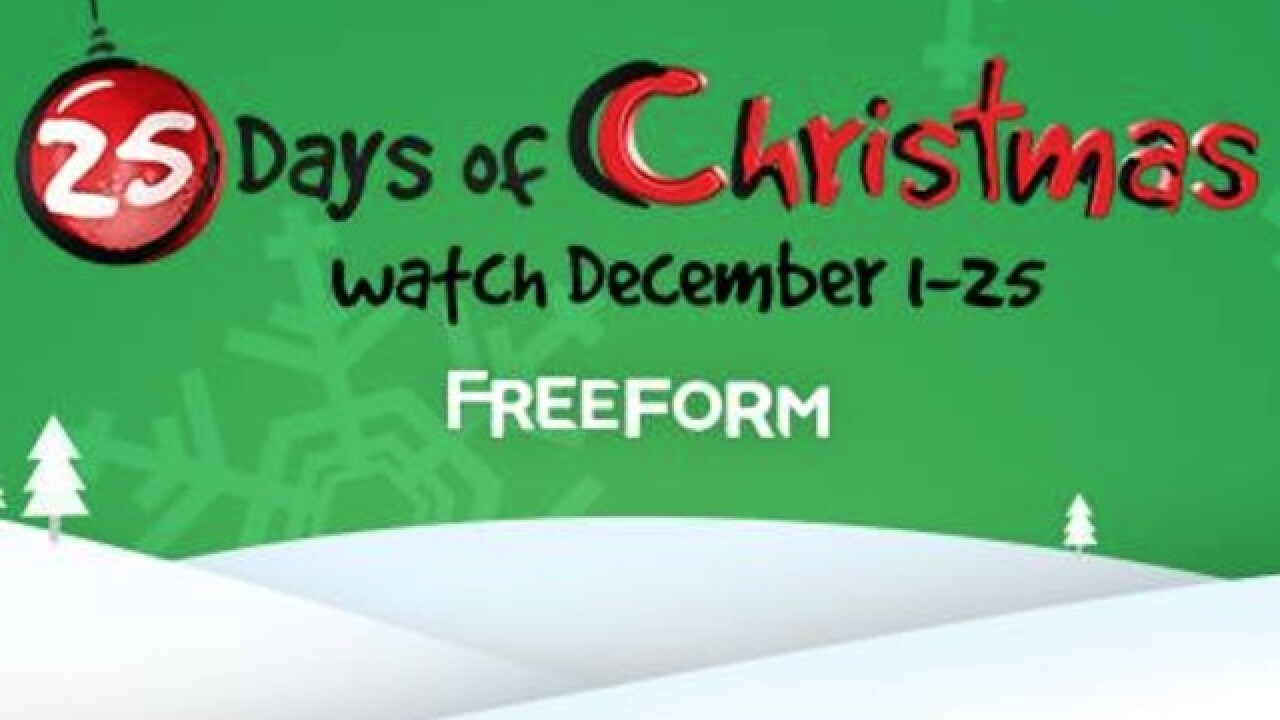 Freeform Christmas Schedule 2020 Freeform releases 25 Days of Christmas lineup