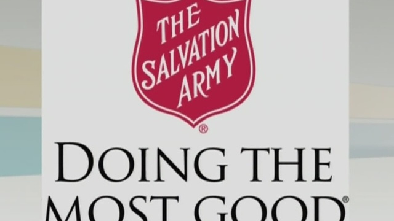 Salvation Army warming centers open