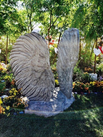 PHOTOS: Las Vegas Healing Garden one year later