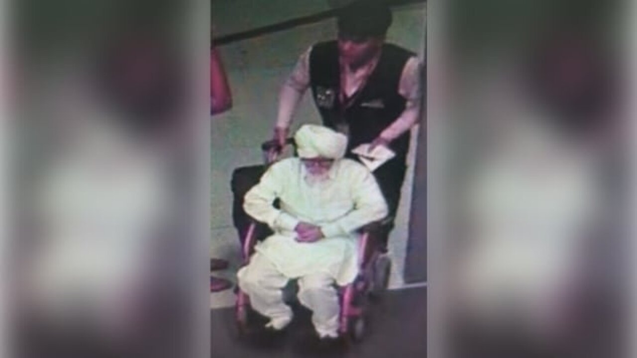 32-year-old man caught impersonating senior citizen at airport in India