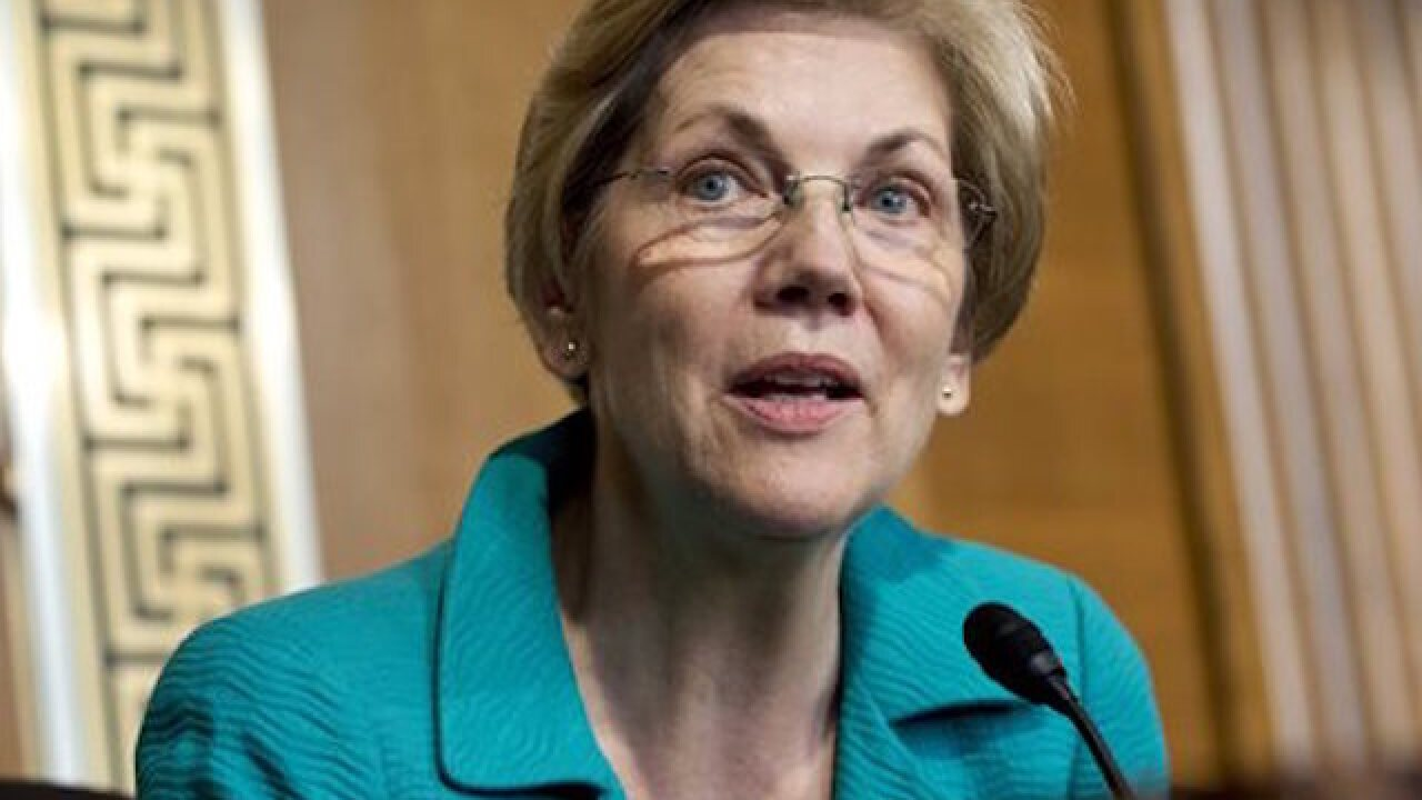 Warren slams Trump, Republicans over judges
