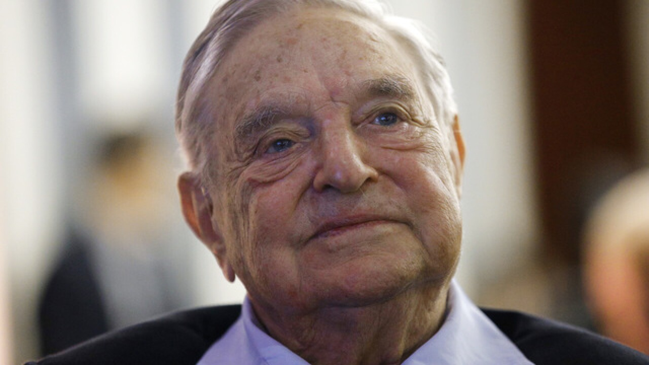 Explosive device found near George Soros' home, police say