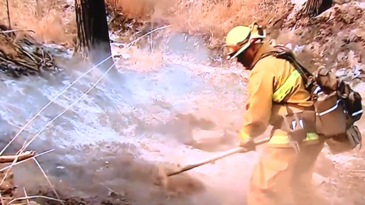 Local firefighter returns from battling west coast fires