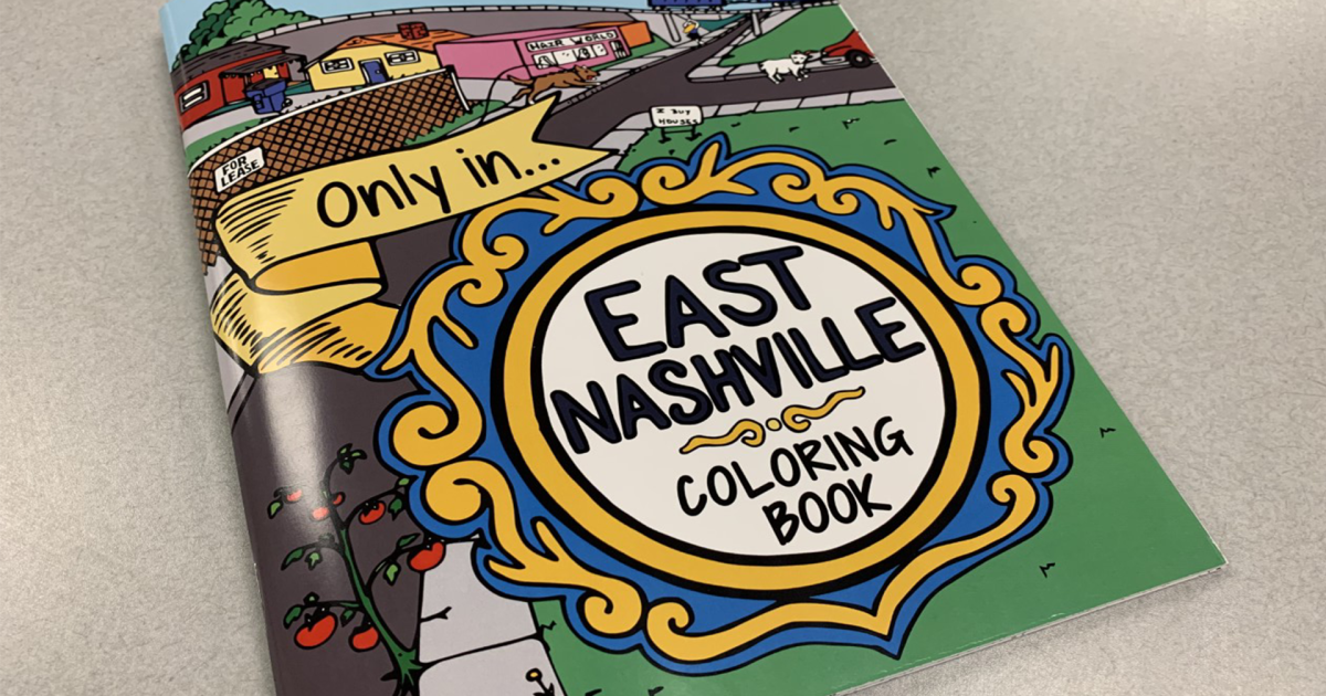 East Nashville coloring book celebrates unique neighborhood