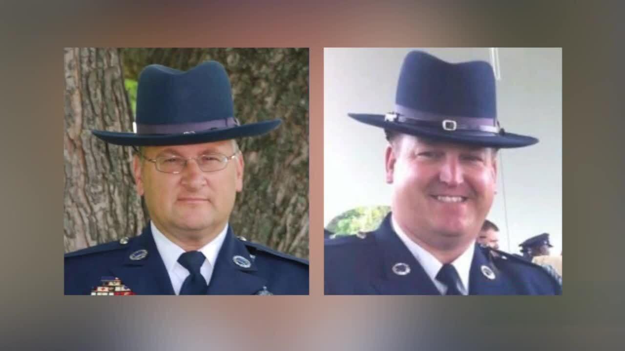 Memorial held for deputies killed in line of duty five years ago