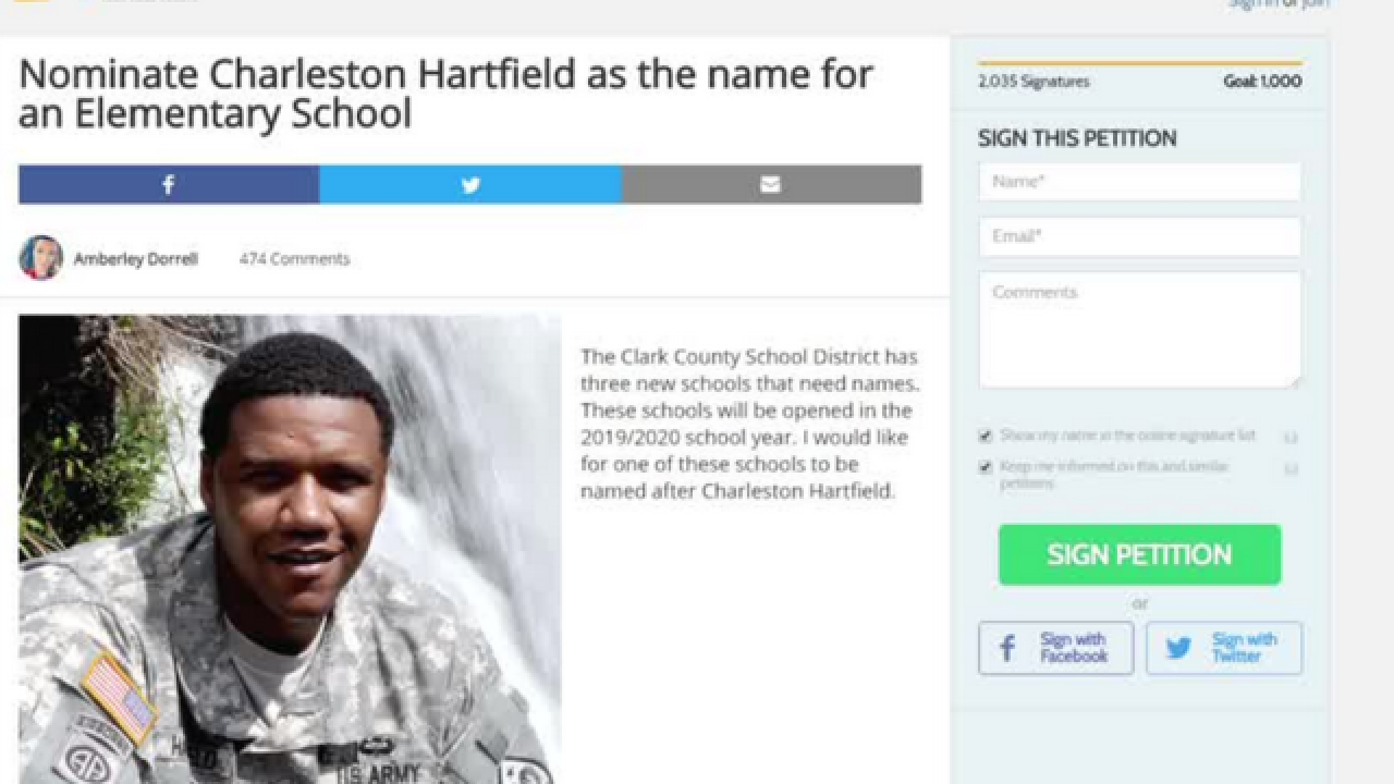 Petition asks to name school after 1 Oct. victim