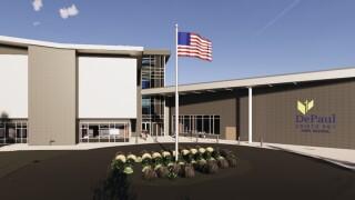 DePaul Cristo Rey High School rendering