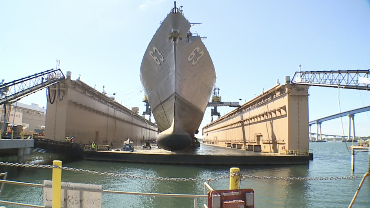 dry dock navy ships bae systems