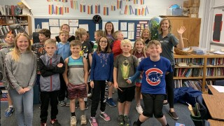 Stratton Elementary 5th graders Storm Safe