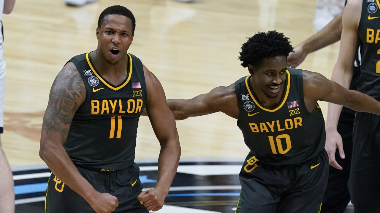 NCAA Final Four Baylor Gonzaga Basketball