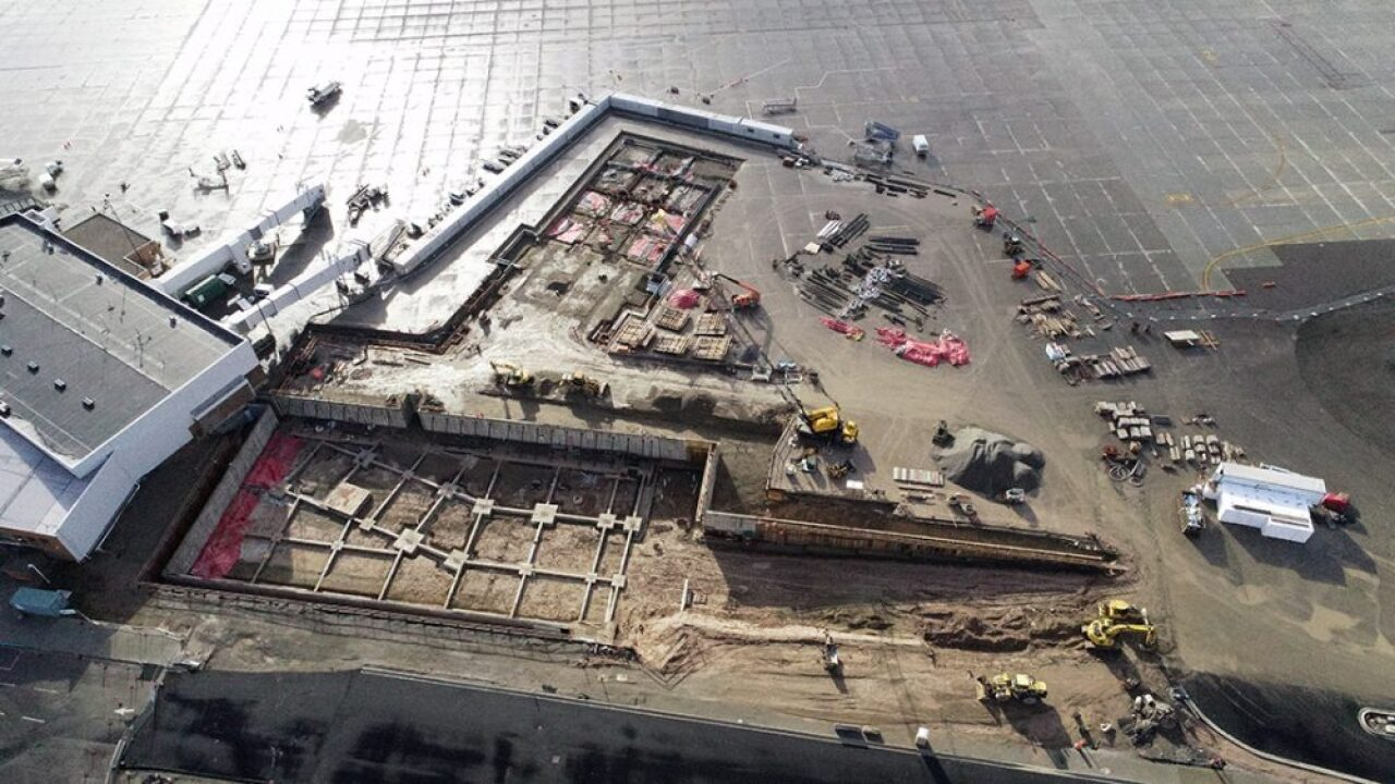 New jet bridges on order at MSO as terminal project advances