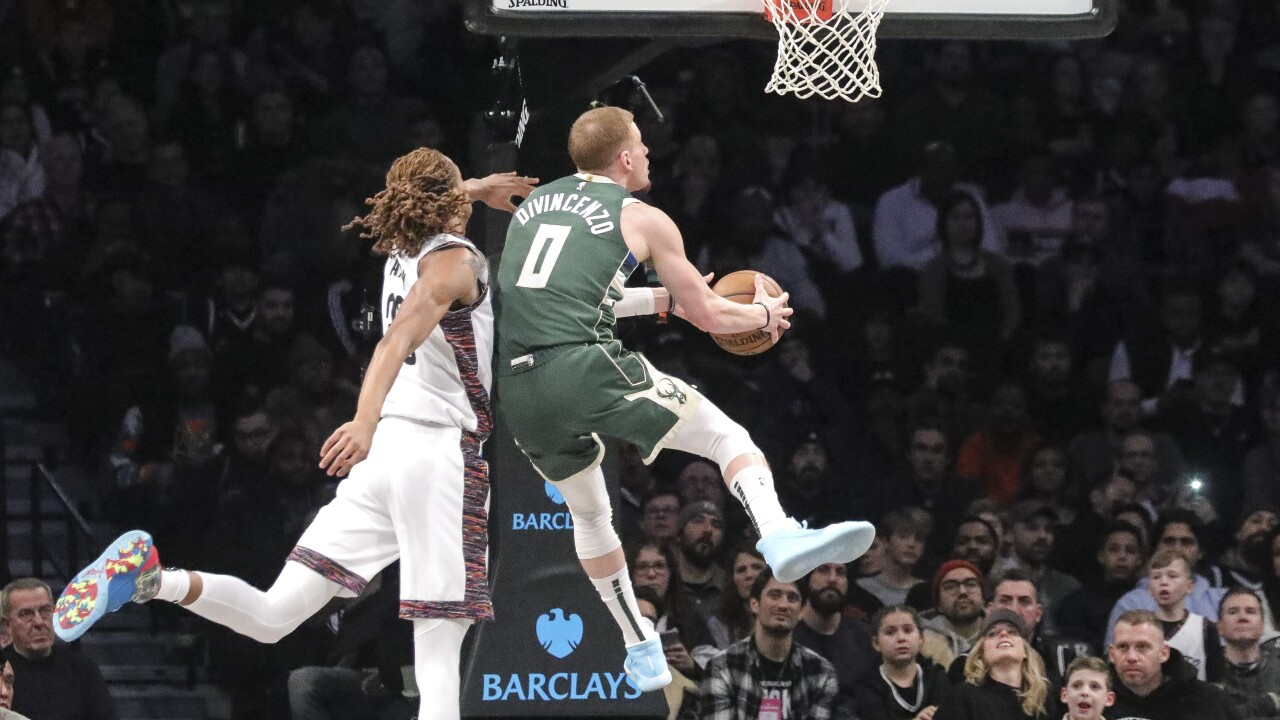 Bucks Nets Basketball