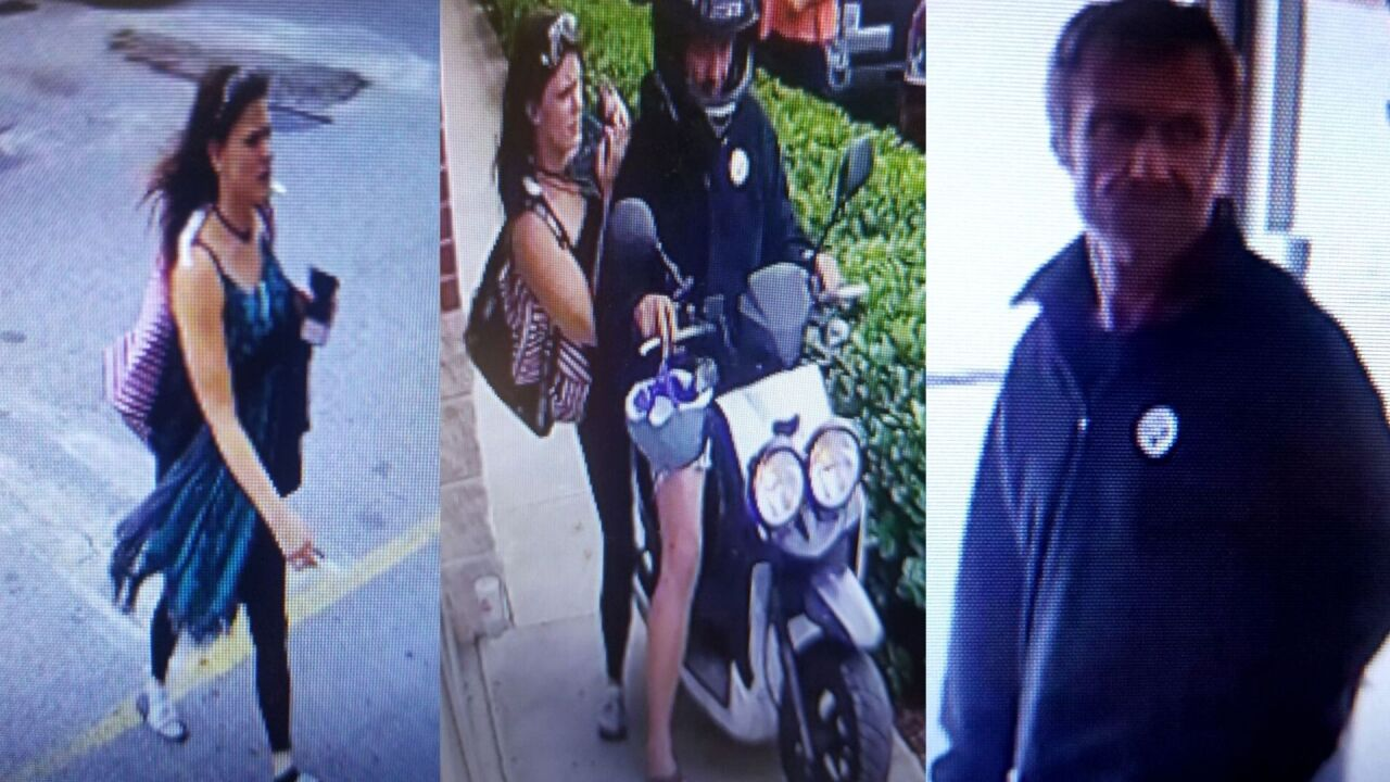 Norfolk thrift shop says 'Bonnie & Clyde' stole from them, escaped on a moped