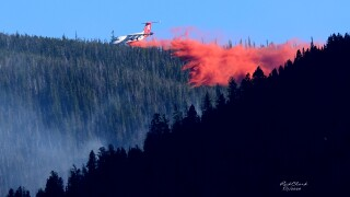 Crews battle dangerous, dense terrain as they fight Fields Gulch Fire