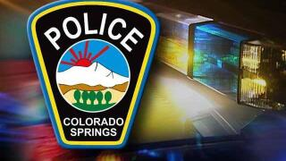 Colorado Springs Police Department badge