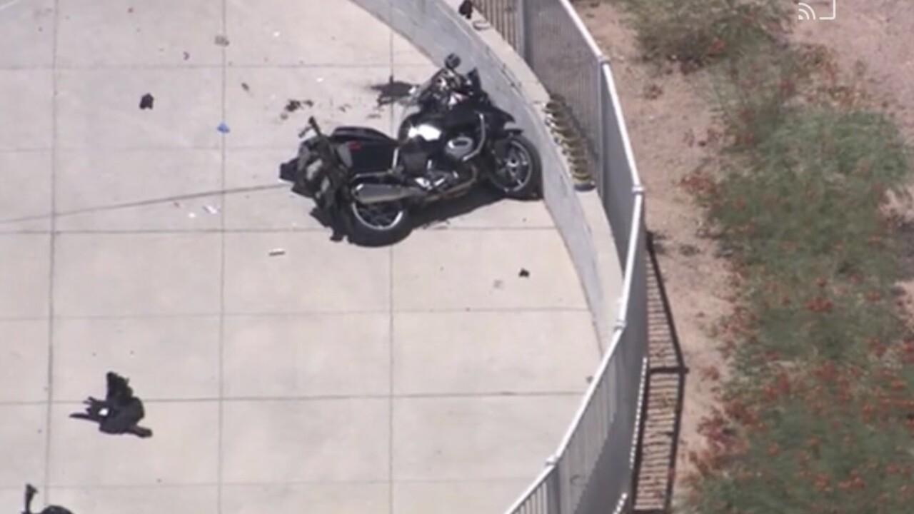 Deadly Police Motorcycle Crash