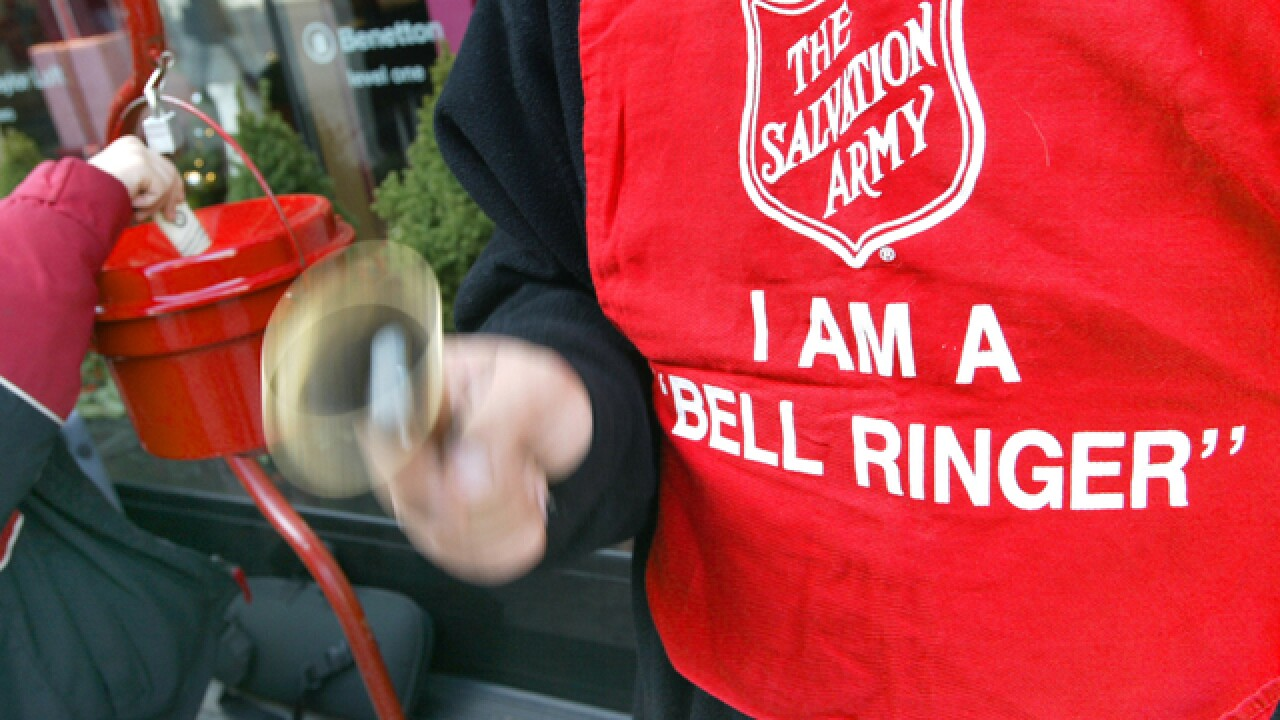 Salvation Army in need of bell ringers around Tampa Bay, here's how you can register to volunteer
